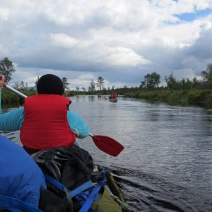 Paddling on rivers and lakes